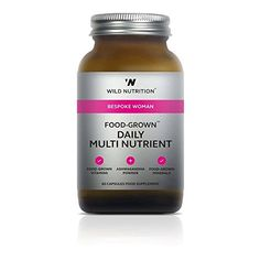 The Product Wild Nutrition Bespoke Woman Food-Grown Daily Multi Nutrient 60 caps  Can Be Found At - http://vitamins-minerals-supplements.co.uk/product/wild-nutrition-bespoke-woman-food-grown-daily-multi-nutrient-60-caps/