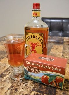Fireball hot toddy #falldrink