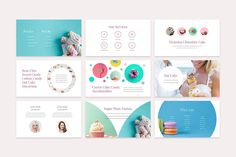 This product is a part of the Colossal Presentation Bundle: CupCake is a personable, creative and clean presentation template for both PowerPoint and Keynote. Ppt Template Design, Ppt Design, Indesign Templates, Keynote Template, Brand Presentation, Presentation Slides, Business Presentation, Powerpoint Presentation Templates, Keynote Design