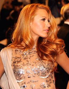 Blake. Love her with this color of hair.