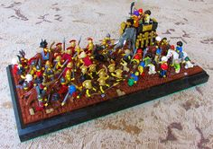 Alexander the Great - For the 3rd time in 5 weeks Hunter Erickson is the creator our featured MOC of the week. And once again he has created a scene based on an actual battle from history. As you can tell by the title, this MOC highlights the amazing career of Alexander the Great, who you can see in minifigure form at the center of this battle on horseback. This battle is the Battle of Hydaspes. #LEGO #Minifigure #BrickWarriors #MOC #LEGOMOC #AlexandertheGreat #AncientHistory #Greek #Paurava