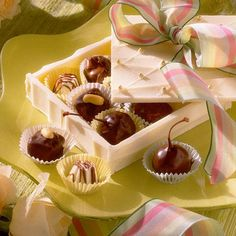 Hazelnut Truffles | These delightful sweets are a tasteful final touch for your spring celebration. Springtime is full of color and wonderful scents, and it isn't just the flowers. These gorgeous spring desserts are all about seasonal fruit. Make sure your sweet tooth is satisfied with everything from cupcake recipes to tart ideas. Any of these spring dessert recipes are great for sharing with family, friends, and neighbors. For a new twist on a classic, try the Key Lime Pound Cake.