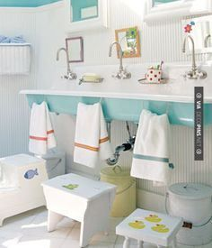 So good - We are in LOVE with kids bathroom! | CHECK OUT MORE BATHROOM DECORATION IDEAS AT DECOPINS.COM | #Bathrooms #bath #bathroomdecoration #bathroomcabinets #bathroomvanities #bathroomvanity #smallbathroomideas #jackandjillbathroom #homedecor #homedecoration #bathrooms #kitchens #kitchendecor #bathroomdecor #interiordesign #design #homedecorpictures #homedecoratingpictures #pictureshomedecoratingideas #interiorpicturesofhomes #interiordesignpictures #homedecoratingphot