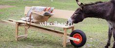 Wheelbench van www.weltevree.nl, eikenhouten verrijdbare bank met een knipoog ;-)