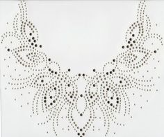 Iron On Rhinestone Crystal Transfer: