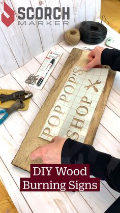 Wood Burning Tips, Wood Burning Crafts, Wood Burning Patterns, Wood Burning Projects, Woodworking Projects Diy, Wooden Projects, Dremel Projects, Diy Wood Signs, Crafts To Make