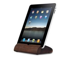 The Walnut Koostik for iPad. $70.00. In portrait mode, sound is channeled down through the device where it emits around the perimeter naturally amplified! Also available in Cherry and Maple. www.koostik.com
