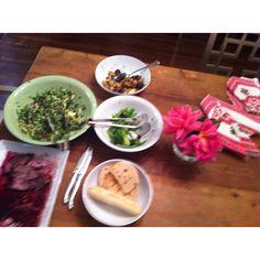Sunday evening Impromptu lamb dinner! Lamb Dinner, Shots, Sunday, Ethnic Recipes, Food, Domingo, Essen, Meals, Yemek