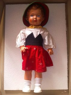small celluloid doll - Google Search