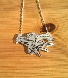 FTHC Mongol Horde Frank Turner Pirate Necklaces by FeltingFox