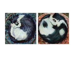 SAM THE CAT    OIL by JRB Grey Cats, Rooster, Paintings, Oil, Brown, Animals, Gray Cats, Animales, Animaux