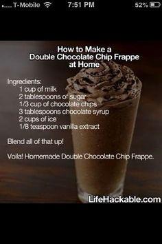 I would like to Trim Healthy Mama this recipe!!! Almond milk, truvia, chunks of skinny chocolate, ice and vanilla! Oh yeah baby!