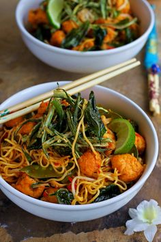 American chopsuey jain recipe jain recipes recipes and food vegetable makhanwala jain recipe chilli garlic tofu noodle bowls with crispy okra ko rasoi forumfinder Image collections