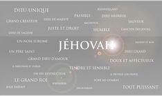 Jéhovah le nom personnel de Dieu...t'as bien un nom toi ? Ben Lui aussi !!