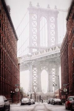 sunflowersandsearchinghearts:      NYC in Winter via pinterest