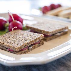 Radishes petit sandwiches #Recipes #mossmountainfarm #gardenchat #radish #joy #jobesorganics #pallensharethebounty
