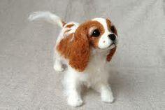 needle felted dog - Google-haku