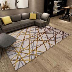 Arctic Light Creative European Style Large Carpet