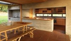 Image 15 of 23 from gallery of La Campana House / Alejandro Dumay + Francisco Vergara A. Gazebo On Deck, Bbq Bar, Rustic Home Design, Summer Kitchen, Space Architecture, Outdoor Cooking, Rustic Kitchen, Country Kitchen, Modern Minimalist