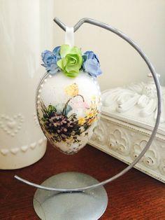 Decoupage Easter egg