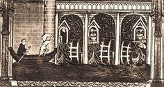 """Paris 4e - """"Moulins des Barres"""" ou """"Moulins de Grève"""" (XIIIe siècle), censive du Temple, au quai du Temple, sous le pont de Grève ."""