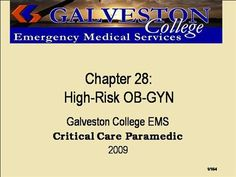 ch28  by rprue via authorSTREAM Emergency Medical Services, Power Points, Critical Care, High Risk, Presentation, Education, Onderwijs, Learning, Electrical Outlets