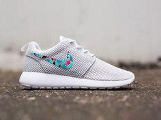 Womens Custom Nike Roshe Run sneakers cute design by CustomSneakz