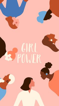 Simple Illustration, Woman Illustration, Watercolor Illustration, Cute Wallpapers, Wallpaper Backgrounds, Iphone Wallpaper, Collage Des Photos, Girl Empowerment, Feminist Art
