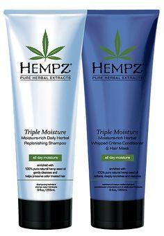 Hempz Triple Moisture Herbal Shampoo and Conditioner