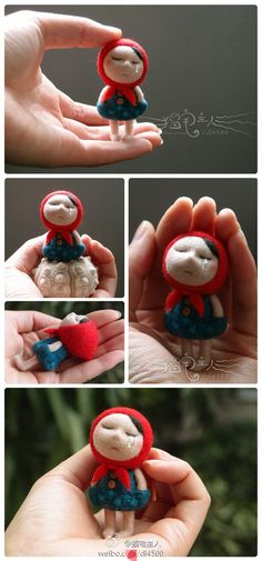 Wet and needle felting Lovely<3 would be a great gift for someone who is in grief!