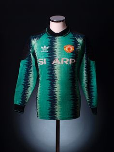 Manchester United 1990 goalkeepers shirt