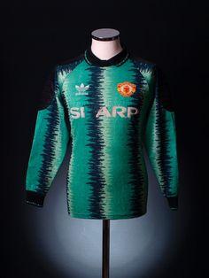 Manchester United 1990 goalkeepers shirt
