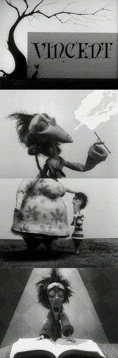 'Vincent,' 1982 | Tim Burton