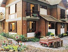 Casas de tijolo a vista 13