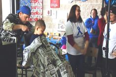 10-Year-Old With Cancer Shaves Head to Help Others - Northern Michigan's News Leader