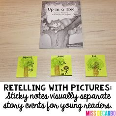 Miss DeCarbo: 3 Ideas To Increase Retelling Skills In Young Readers