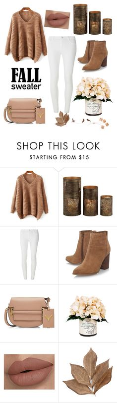 """Fall Sweather🍂🍁"" by ayalahani ❤ liked on Polyvore featuring Home Decorators Collection, Dorothy Perkins, Nine West, Valentino, Creative Displays and Bliss Studio"