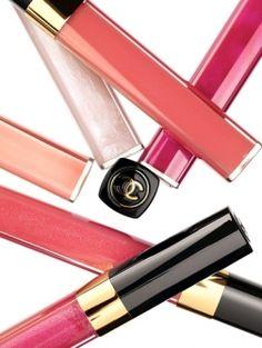 Chanel-lipgloss...yep, I'm addicted.