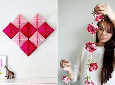décors st-valentin Diy St Valentin, Decoration, Home Crafts, Party, Galette, Eucalyptus, Room, Ideas, Garland Decoration