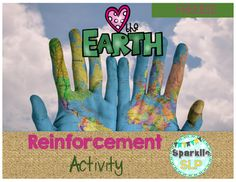 Love the Earth Reinforcement Activity is a FREEBIE for use during the month of April or anytime. Use the card game as reinforcement following or during any target skill practice.Created by Sparklle SLP