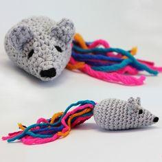 Häkelanleitung Kleine Maus