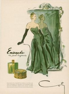 Gorgeous in Green, circa 1946