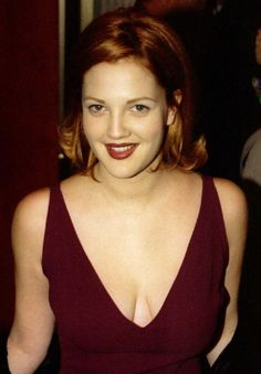 Drew Barrymore's Many Hair Colors