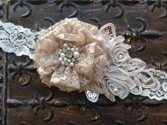 Hey, I found this really awesome Etsy listing at https://www.etsy.com/listing/166321545/bridal-belt-bridal-sash-vintage-bridal