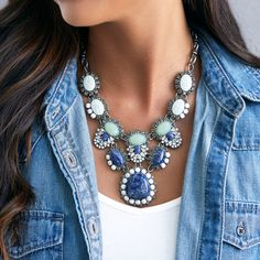 Tangier Convertible Statement Necklace | Chloe + Isabel
