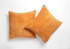 Orange Cushion Covers, Orange Cushions, Striped Cushions, Throw Pillows, Home, Design, Toss Pillows, Cushions, Ad Home