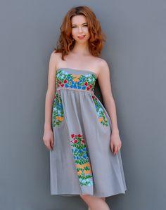 Bluseagal - Walk on the Wild Side Grey Boho Dress, $76.00 (http://www.bluseagal.com/products/walk-on-the-wild-side-grey-boho-dress.html)