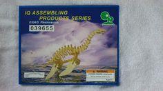 IQ Assembling Products Series Wood D304/S 3D Puzzle Model Plesiosaurus Dinosaur #IQASSEMBLINGPRODUCTSSERIES