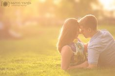 Sunset engagement photo | Mellon Park Shadyside Engagement | Pittsburgh