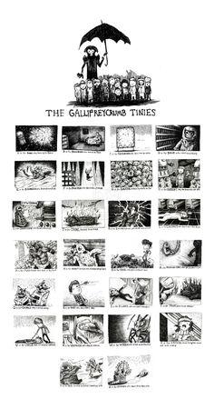 The Gallifreycrumb Tinies by *EatToast on deviantART